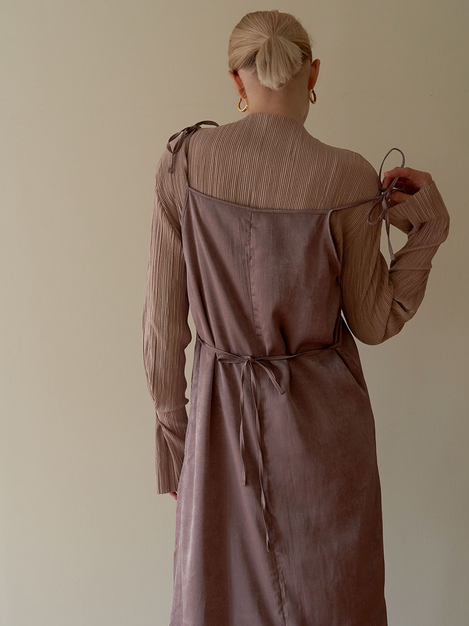Autumn tint dress - Beige